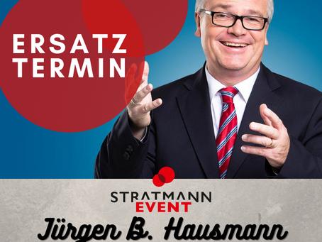 Ersatztermin Jürgen B. Hausmann Gütersloh
