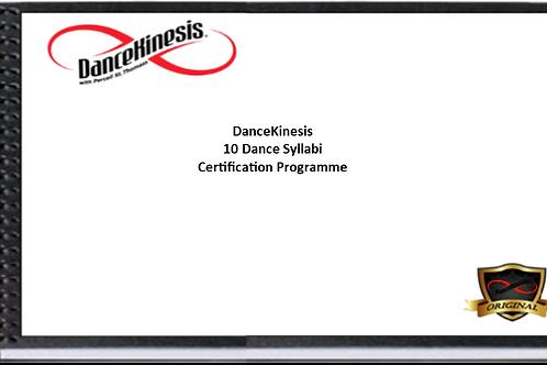 DanceKinesis Full Beginners' Dance Syllabus
