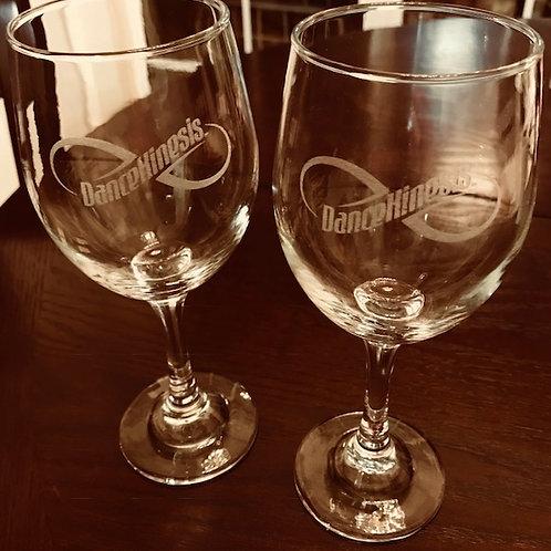 DanceKinesis Wine Glasses
