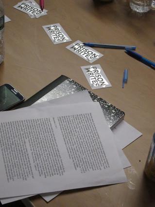 Prison Writes memoir workshop