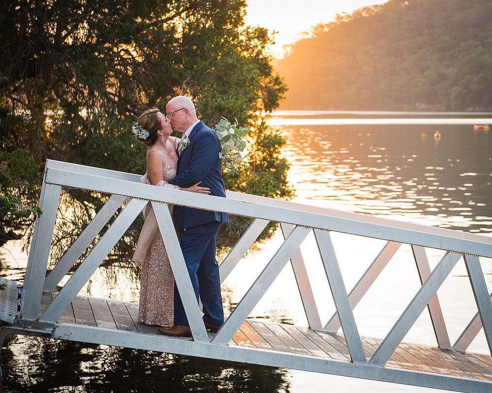 Cottage Point Wedding, Sunset Wedding