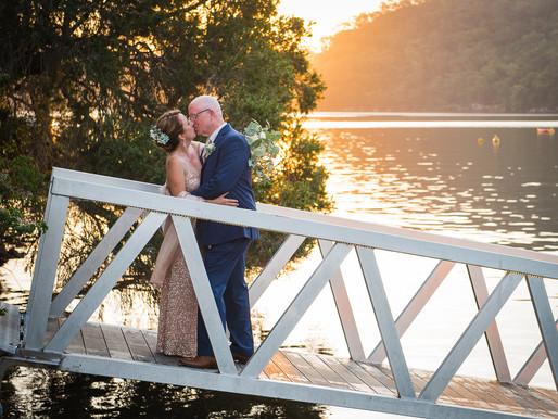 An elegant wedding in Cottage Point