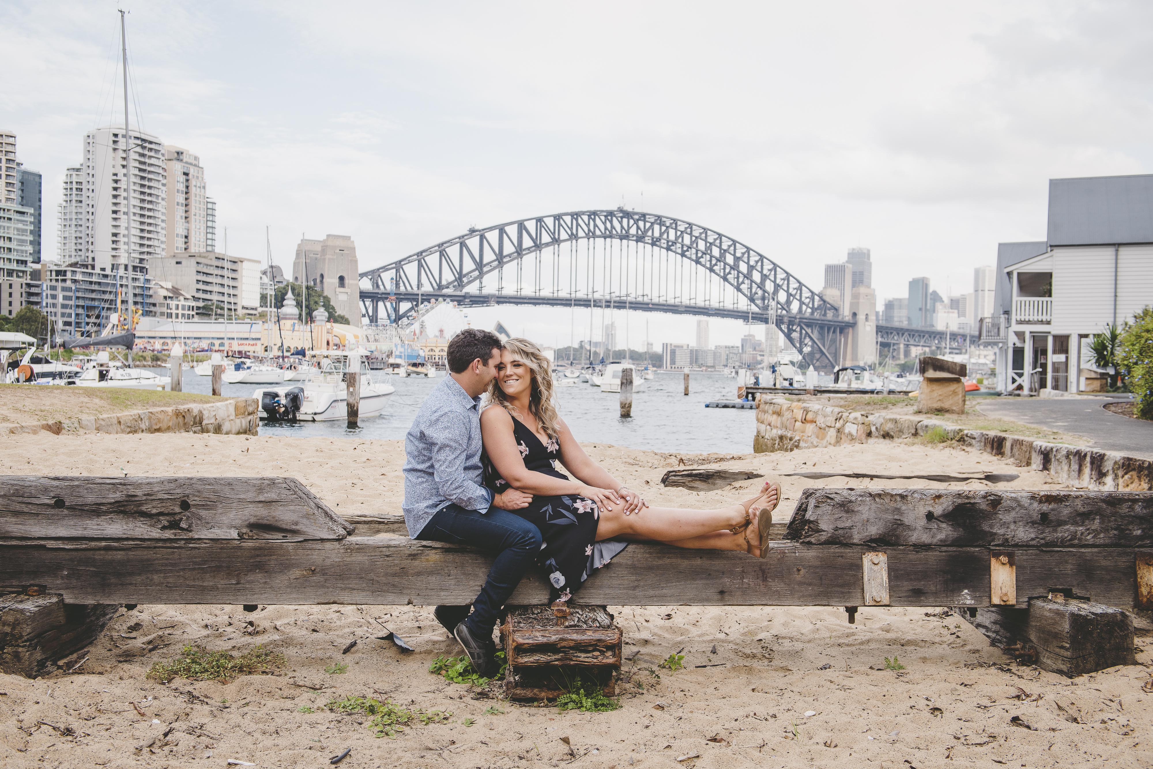 Engagement Photo, Kirribilli