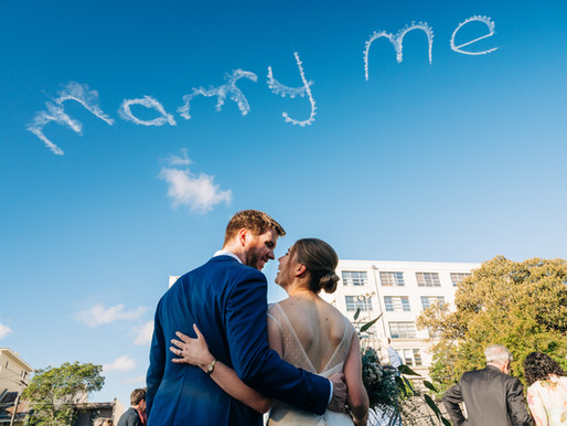 Clare & Jono's Inner City Wedding
