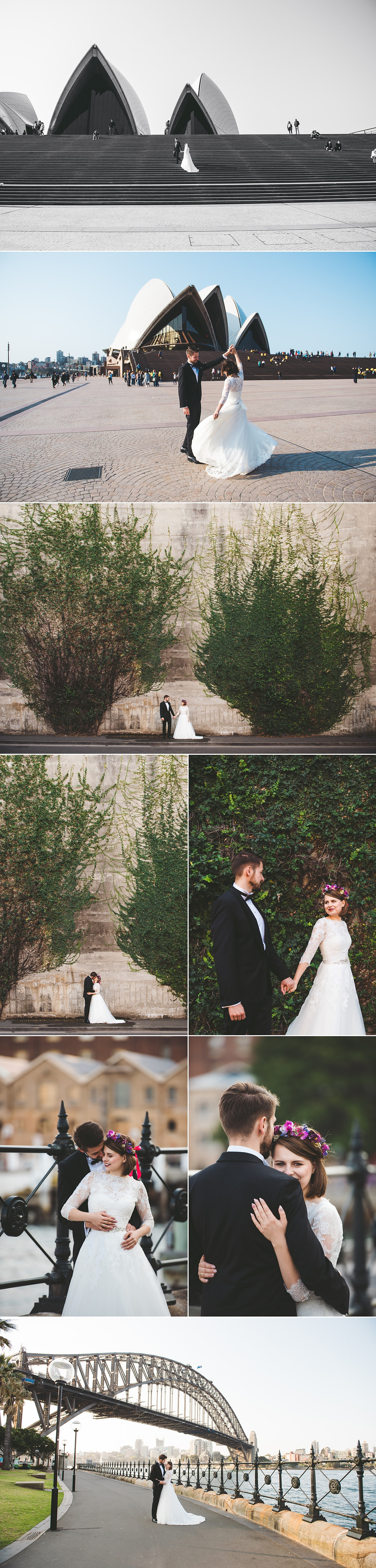 Wedding Photography, Sydney Harbour Bridge, Opera House