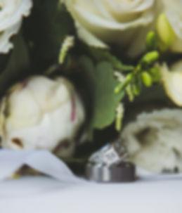Wedding Rings, wedding, bouquet
