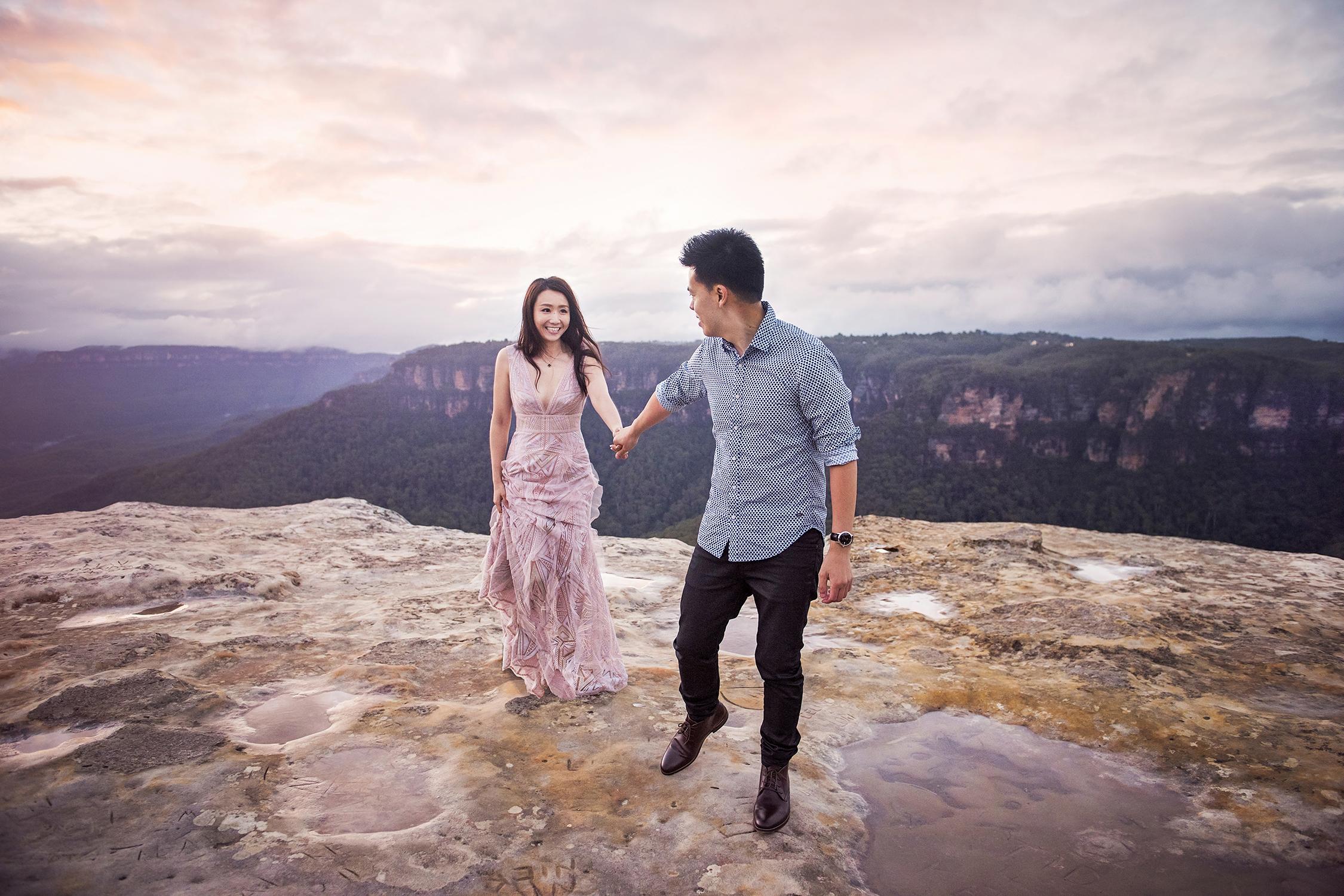Engagement Photo, Blue Mountains