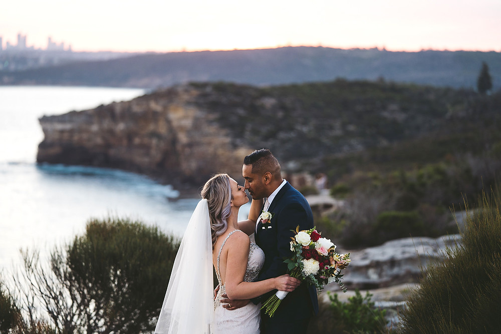 north head, manly wedding, manly, sydney, sunset