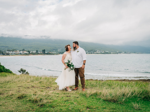 Angela & Ross' South Coast Wedding