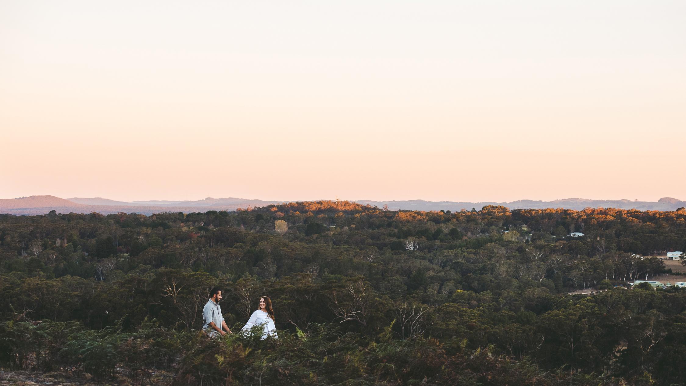 Engagement Photo, Rural