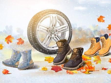 Зимові шини та сезонний шиномонтаж
