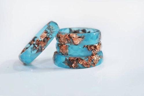 Aqua Resin Ring