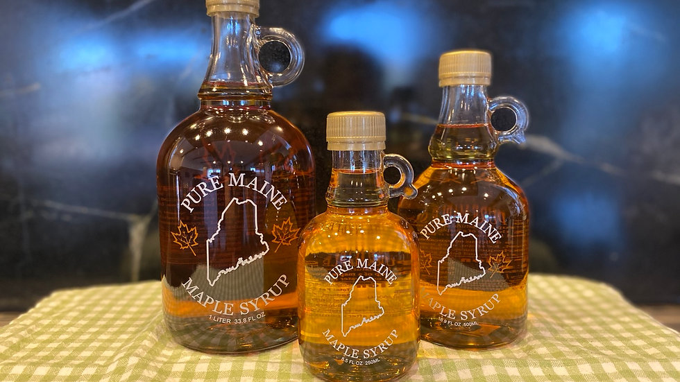 Eureka Farms Maple Syrup- 16.9 oz (medium)