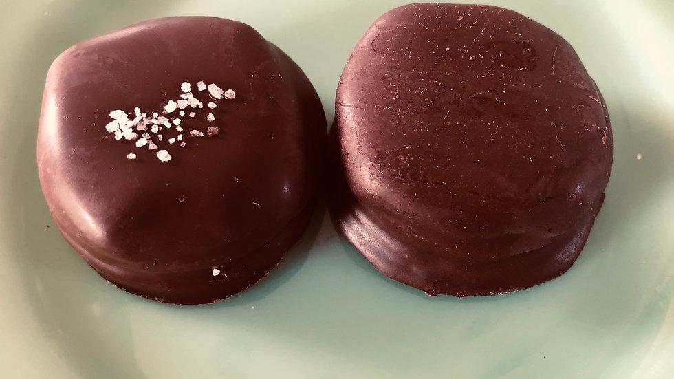 Chocolate Covered Caramel Oreos