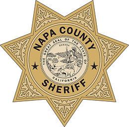 napa sheriff's badge - 2 color (300 dpi