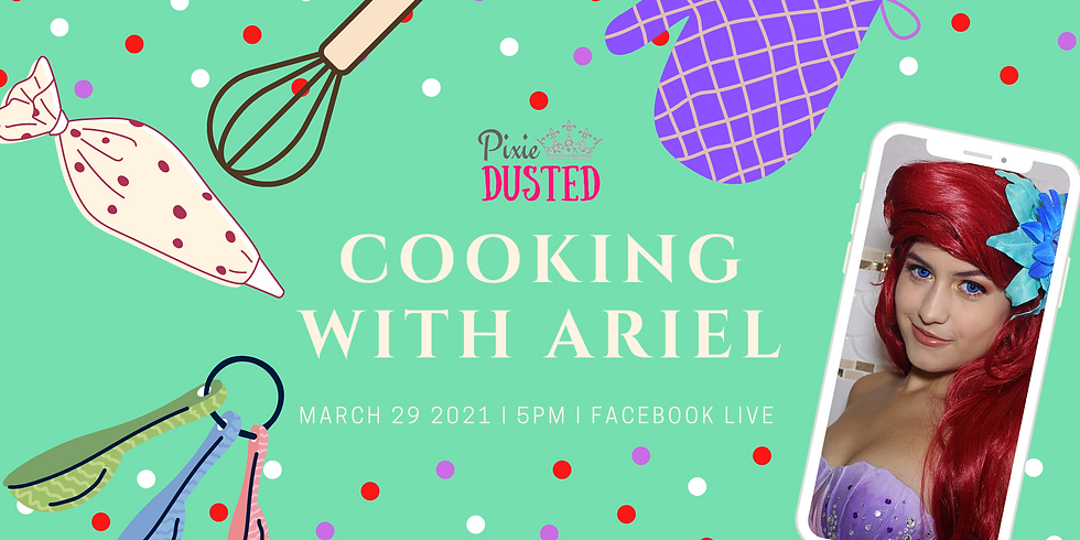 Cooking with Ariel