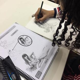 Curso profissional de Desenho na Arte Sã