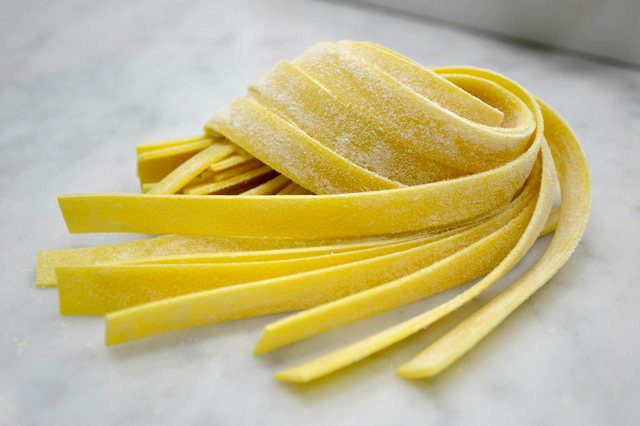 Pappardelle.