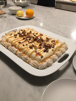 Semifreddo with Chestnut Cream.