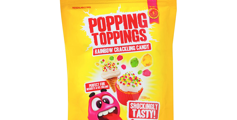 Rainbow Popping Toppings