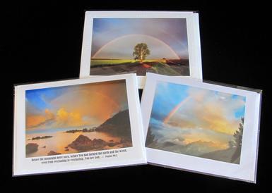 Set of 3 Rainbow Cards