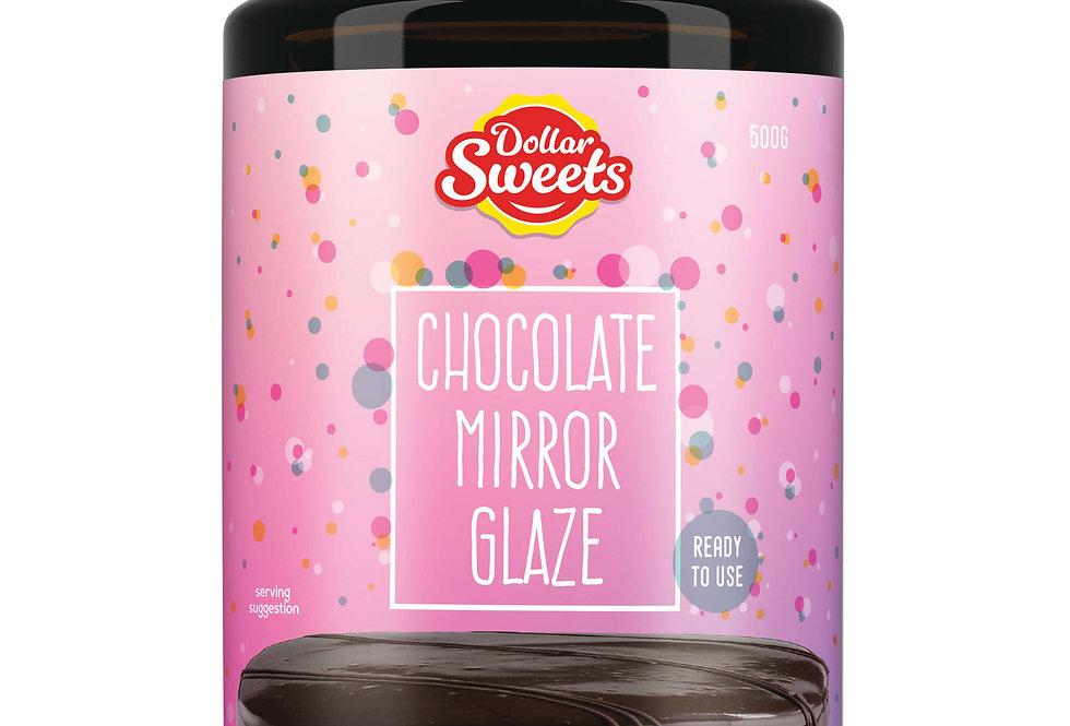Chocolate Mirror Glaze
