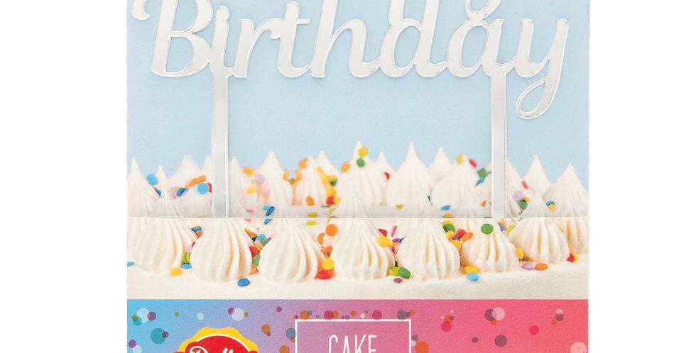 Happy Birthday Acrylic Plaque