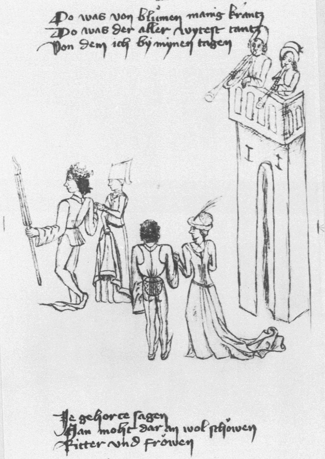 Noblemen and Ladies Dancing