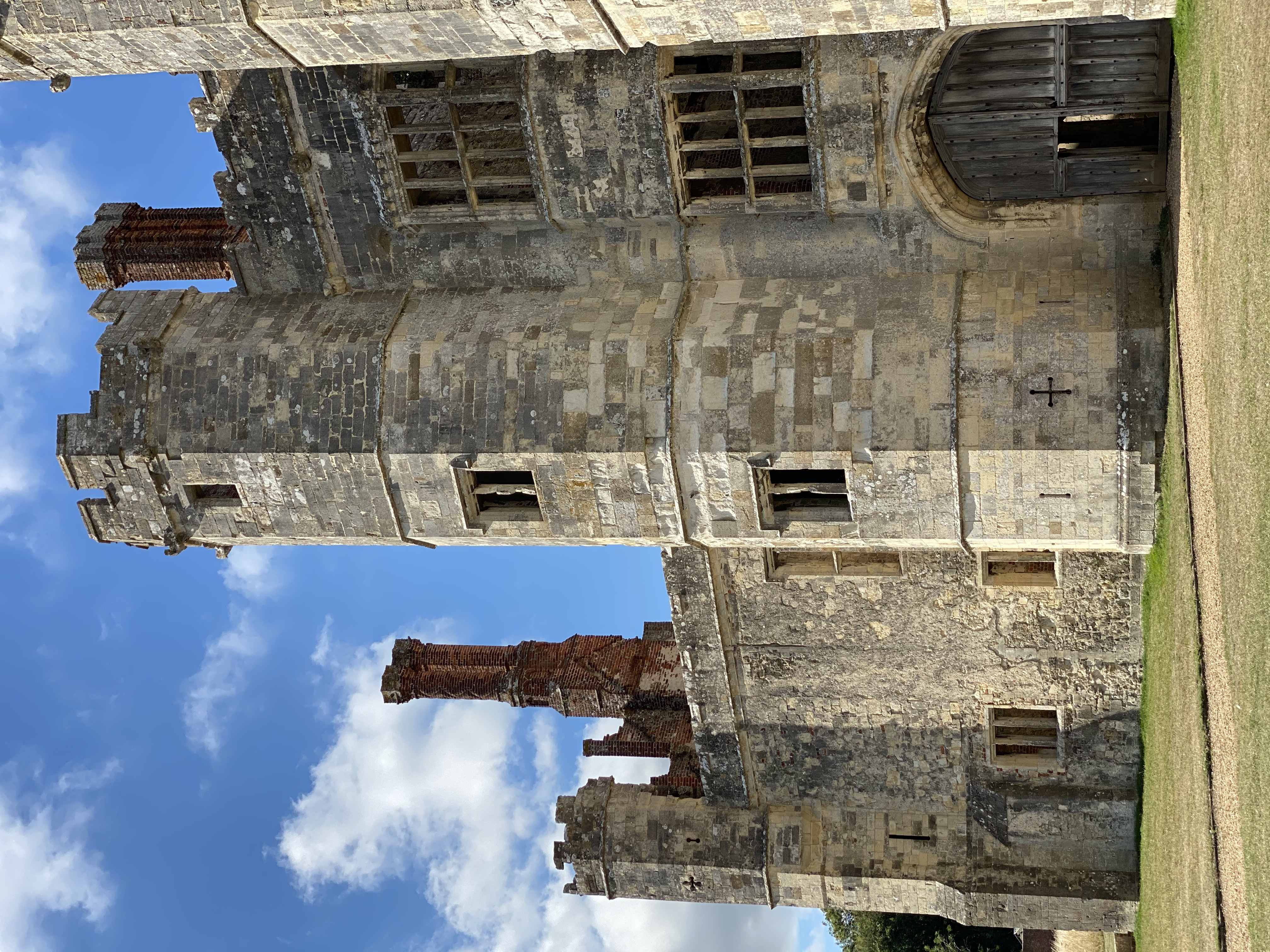 The front of Titchfield Abbey