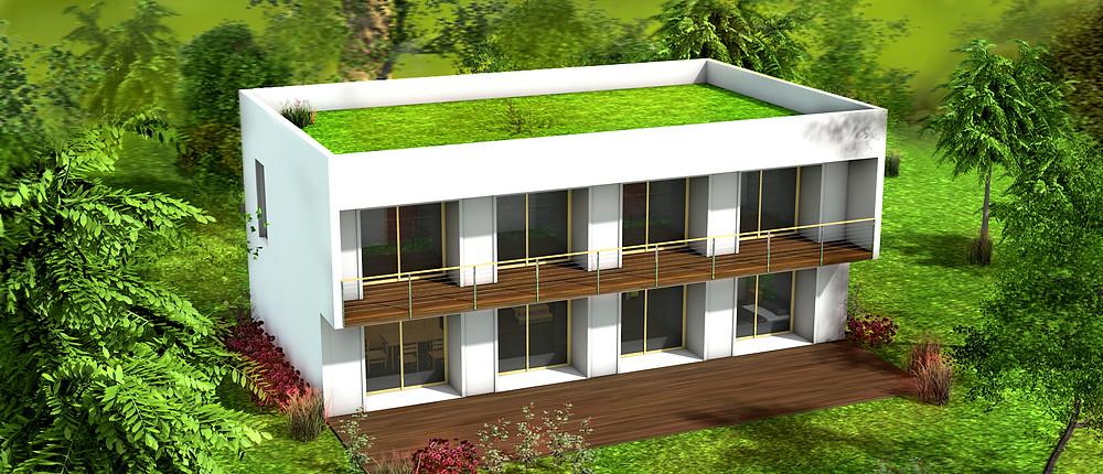 homani construction architecture 3D