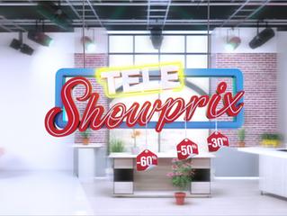 """Logo promotionnel """"Téléshowprix"""", modélisation et animation 3D, jingles et habillage de l&"""