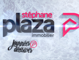 Animation du logo PLAZA immobilier