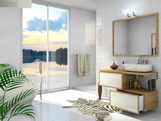 Simulation 3D Salle de bains
