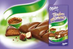 milka Tendres moments Praliné mousse