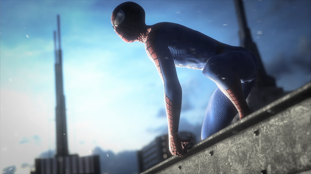 spiderman animation 3d, graphiste 3d, infographiste 3d