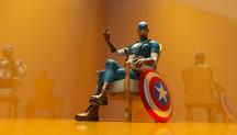 Captain America.(Série de super-héros)