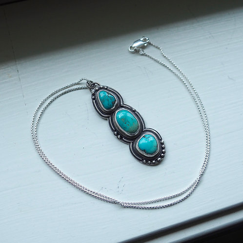 Hearty & Pure Carico Lake Turquoise Necklace