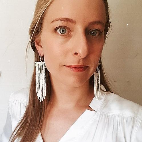 Tourmaline Chandelier Earrings