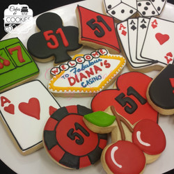 Casino Themed Cookies