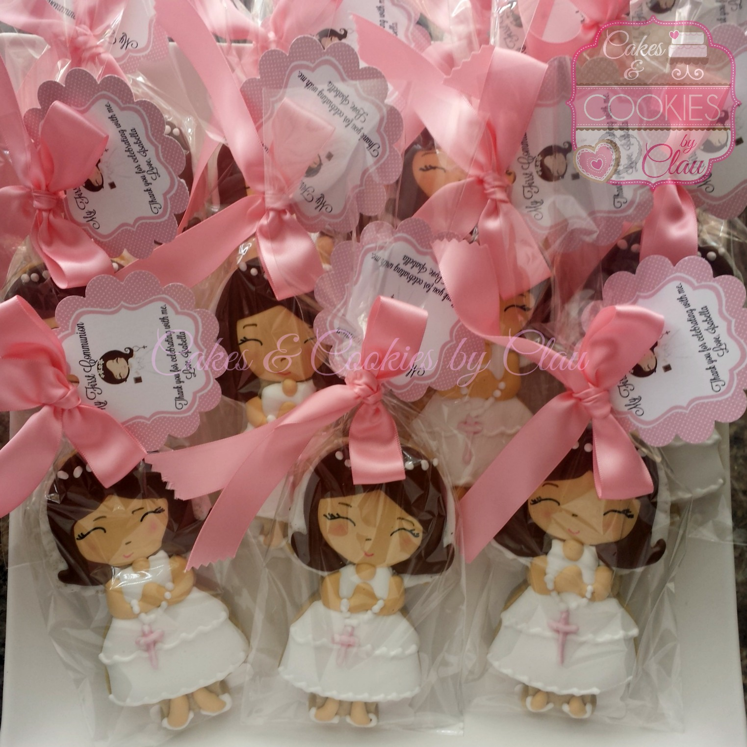 First Communion Favors - Isabella