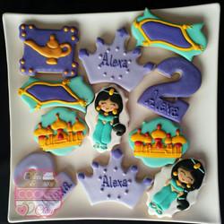 Jasmine's inspired cookies
