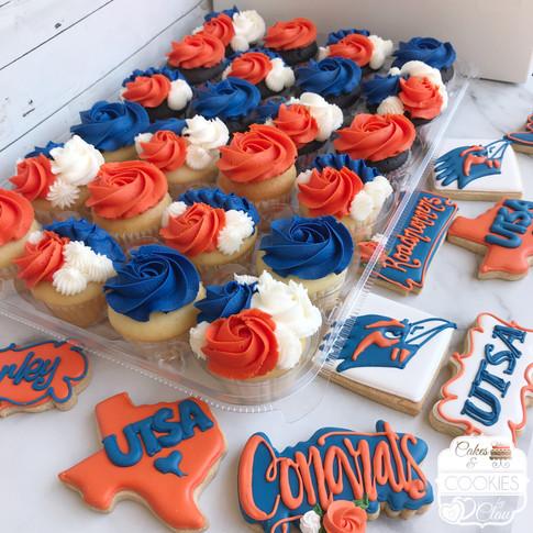 UTSA Graduation Cupcakes