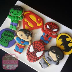 Baby Superheroes