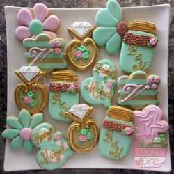 Pink, Mint & Gold Bridal