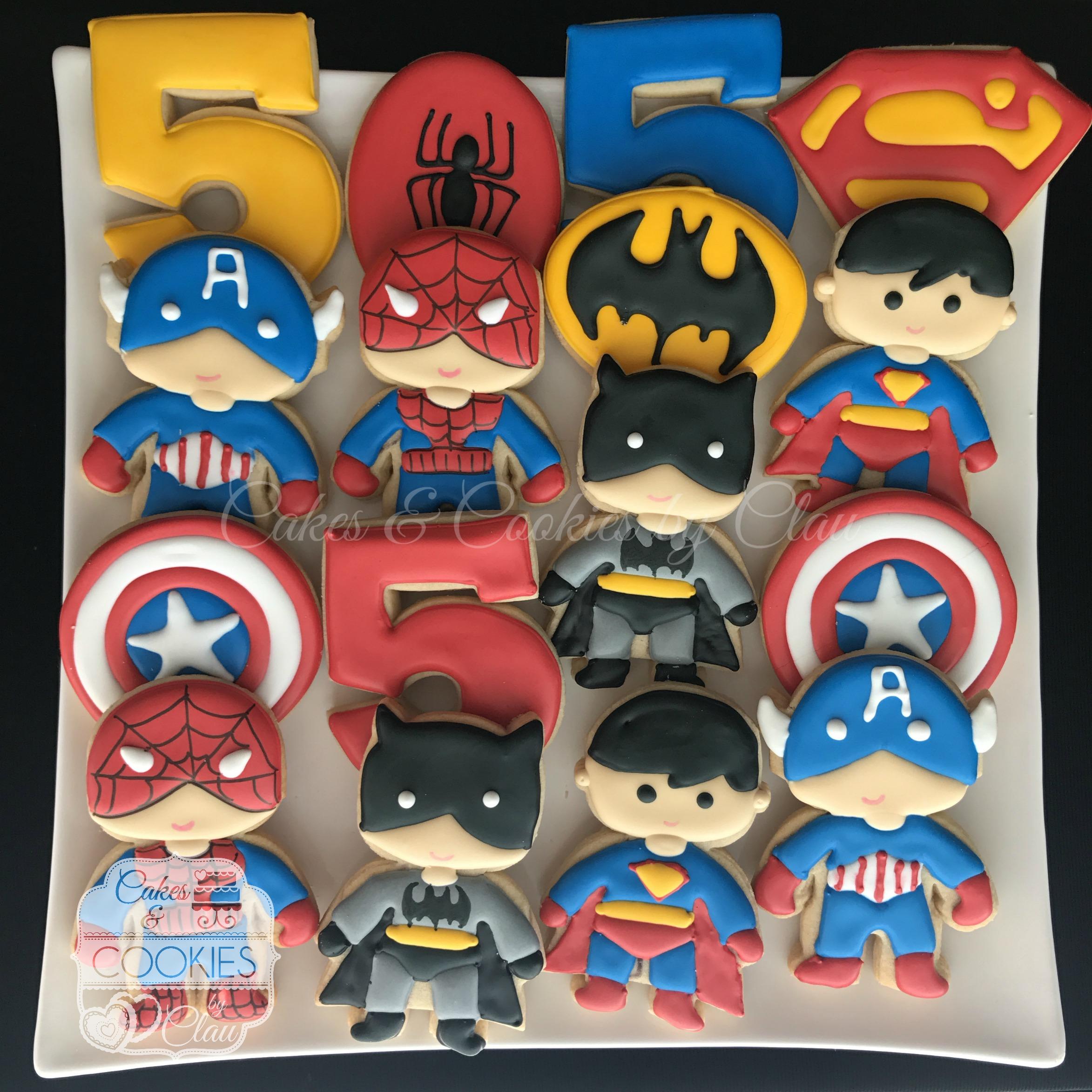 Superheroes Birthday