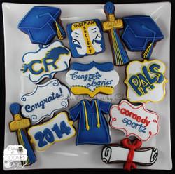 Xavier - Graduation Platter