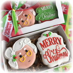 Mrs. Claus Cookie Gift Box