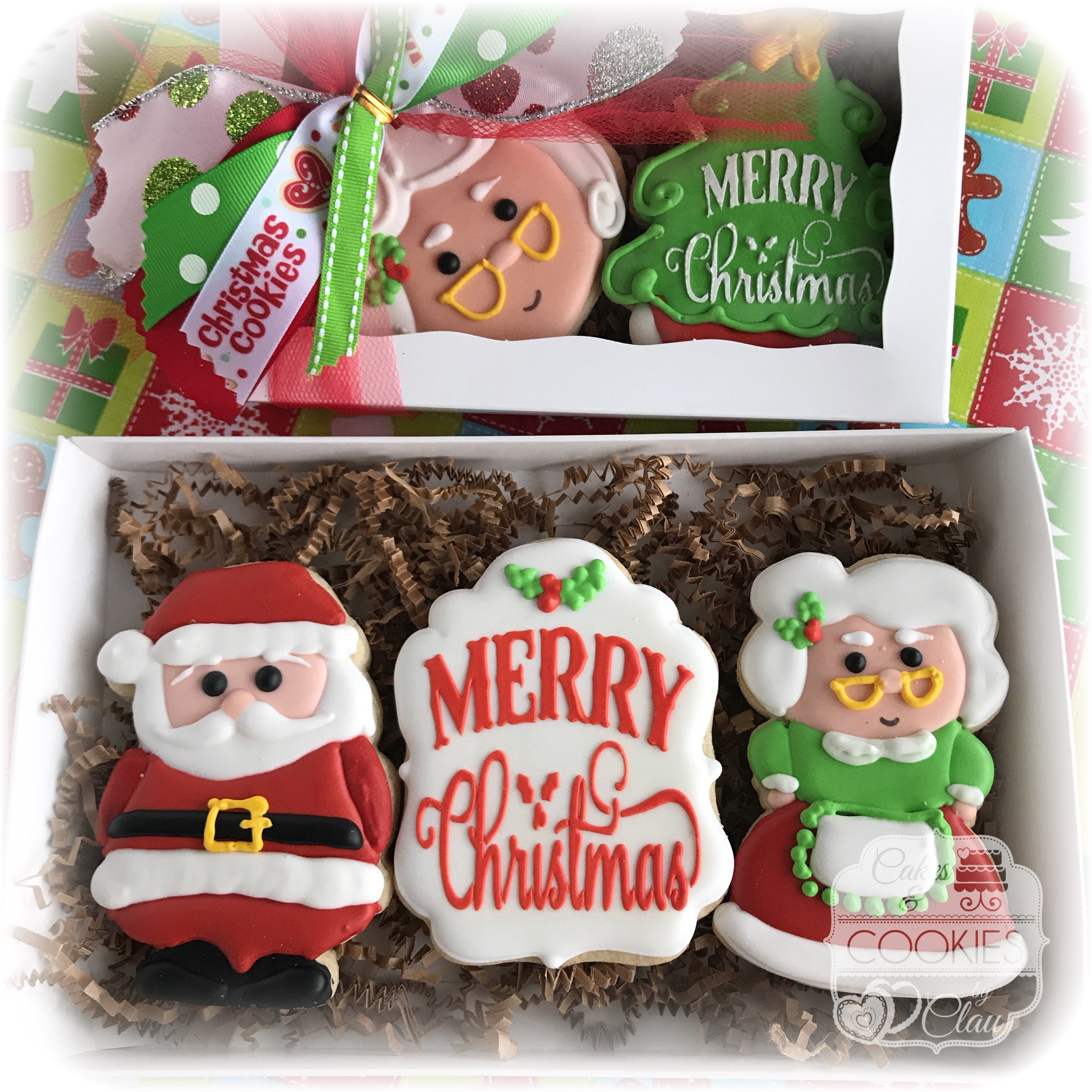 Santa & Mrs. Claus Gift Box