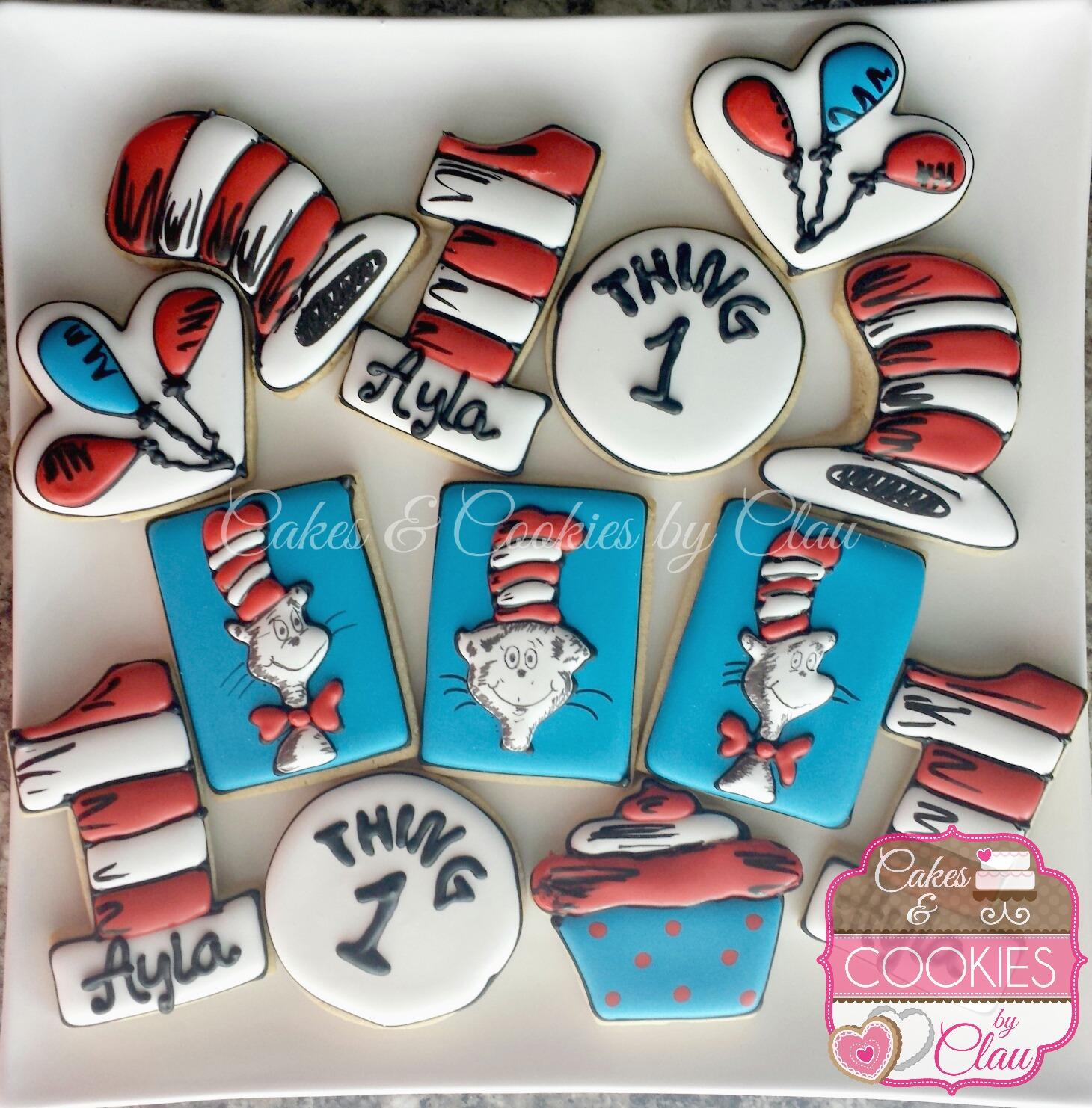 Dr. Seuss 1st Bday