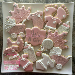 Pink & Silver Baby Shower